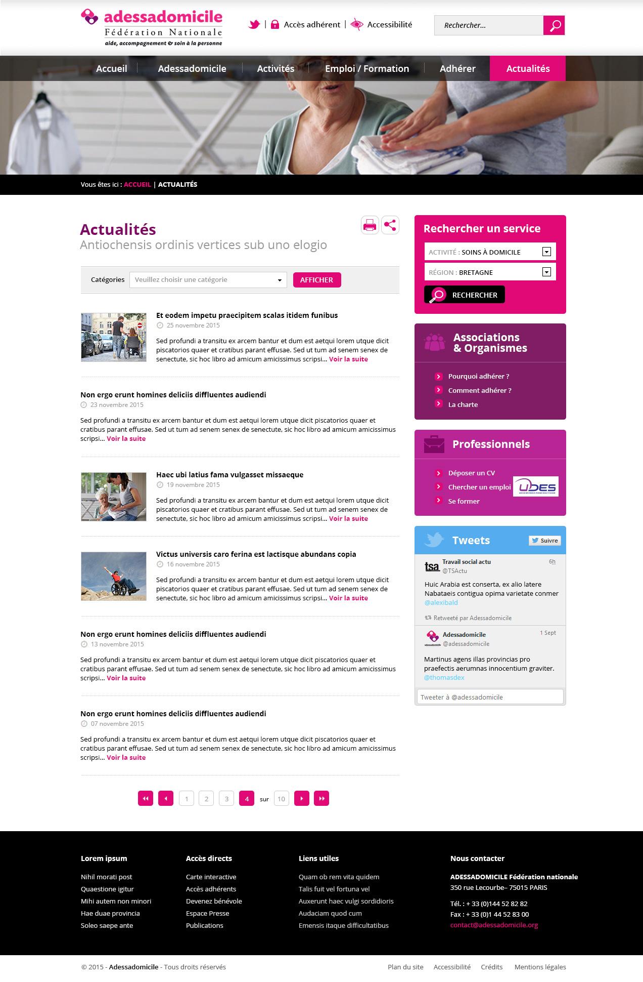 Adessadomicile-Article