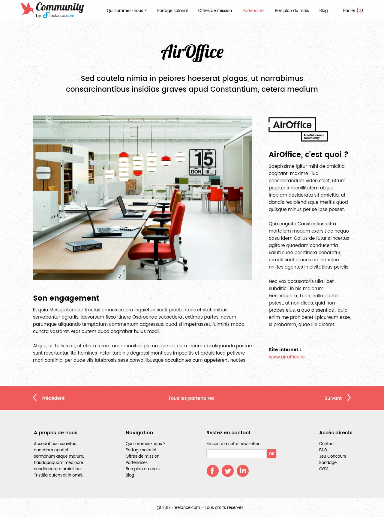 Freelance.com – Community – Page