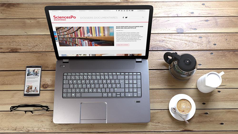 Sciences Po Bibliothèque Documentaire – Site internet