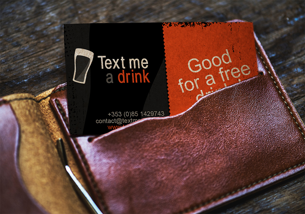 Text Me A Drink – Coupon
